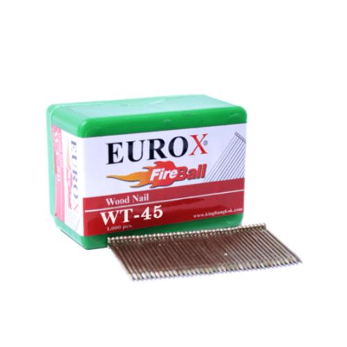 EUROX ตะปูมีหัวใช้ยิงไม้  WT-45
