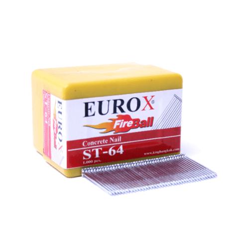 EUROX ตะปูมีหัวใช้ยิงคอนกรีต ST-50