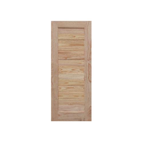 WINDOOR ประตูลวดลาย L 162 สนNz 80x180 L 162 สีเหลือง