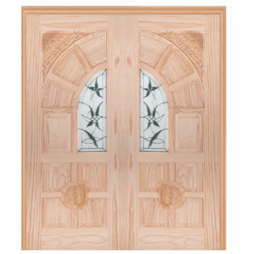 WINDOOR ประตู+กระจก ชัยพฤกษ์ Com6 สนนิวซีแลนด์  ขนาด 80x200 ซม.