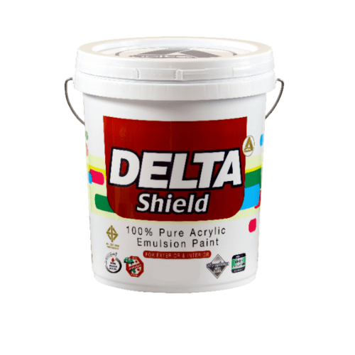 DELTA สีเดลต้าชิลด์ 199 ขาว