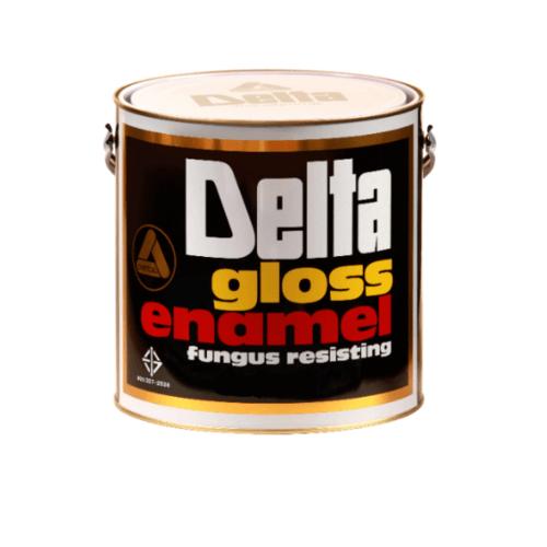 DELTA สีเคลือบน้ำมันเงา 700 ขาว