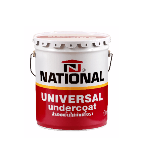 NATIONAL สีรองพื้นไม้กันเชื้อรา NP 610 สีขาว