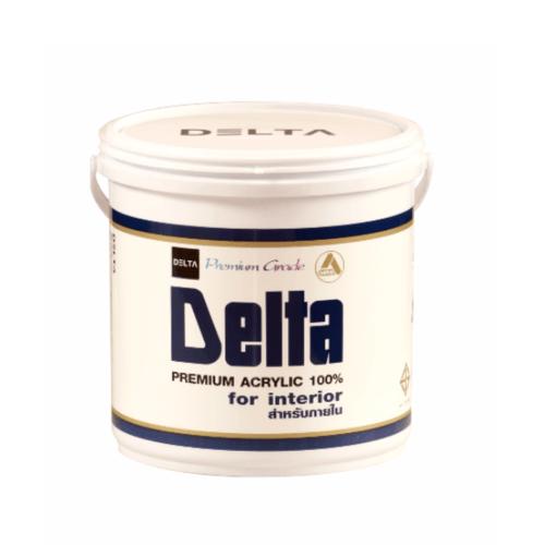 DELTA สีน้ำภายใน Base E ขาว