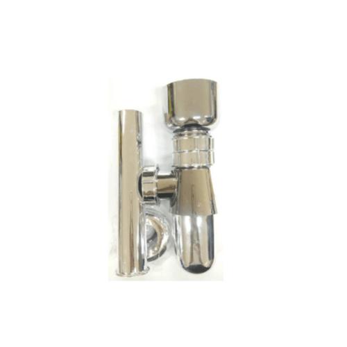 VEGARR ชุดท่อน้ำทิ้งพร้อมถ้วยล่าง VS131-8 โครเมี่ยม