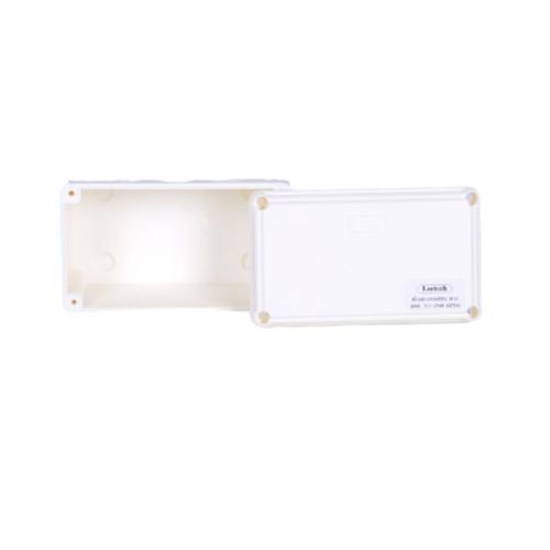 LEETECH กล่องกันน้ำ WB 305 W  สีขาว