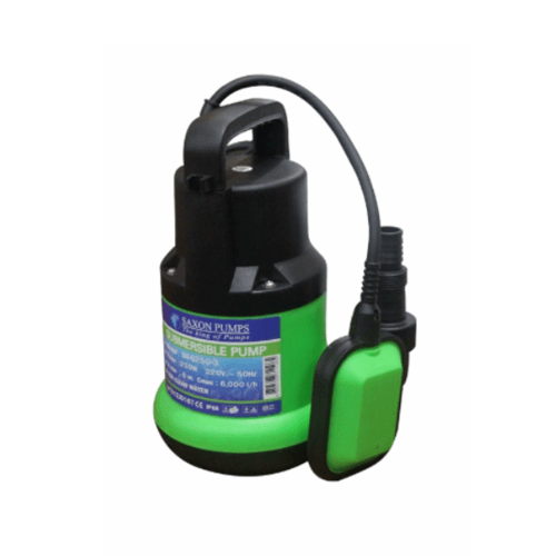SAXON PUMPS ปั๊มไดโว่ 250 วัตต์ SX-Q250-3 สีเขียว