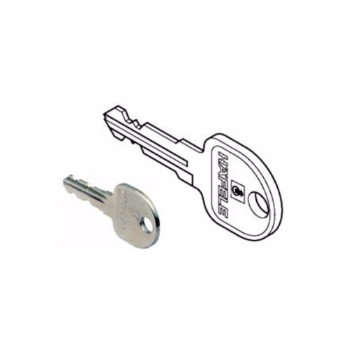 HAFELE กุญแจสำหรับถอดไส้กุญแจ 210.11.090 นิกเกิ้ล