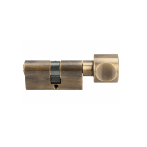 HAFELE ไส้กุญแจพร้อมหางปลาบิด ระบบมาสเตอร์คีย์  916.95.30161 ทองเหลืองรมดำ