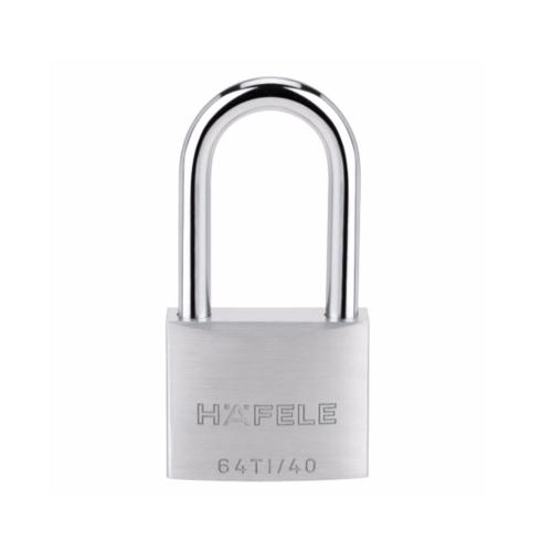 HAFELE กุญแจล็อคสายยู  482.01.825 สแตนเลส