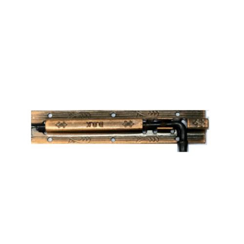D.D.K กลอนรมดำลายเส้น ขนาด 6 นิ้ว 1863AC ทองแดงรมดำ
