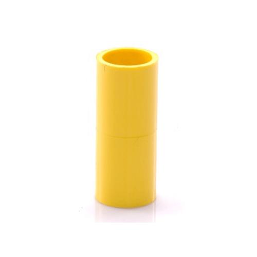 SCG ข้อต่อตรง 3/8นิ้ว(15) เหลือง