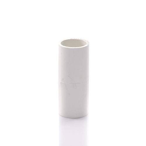 SCG ข้อต่อตรงร้อยสายไฟ1นิ้ว(25) - สีขาว