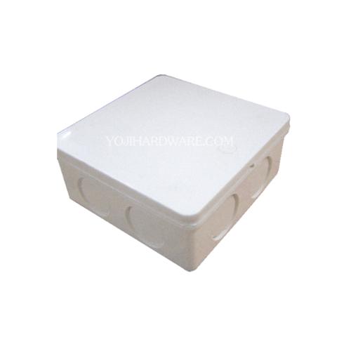 SCG กล่องพักสายไฟสี่เหลี่ยม 4x4  WEC 15-18-20 สีขาว