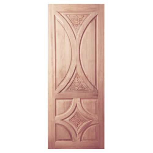 BEST ประตูไม้สยาแดง  80x180 cm. GC-36