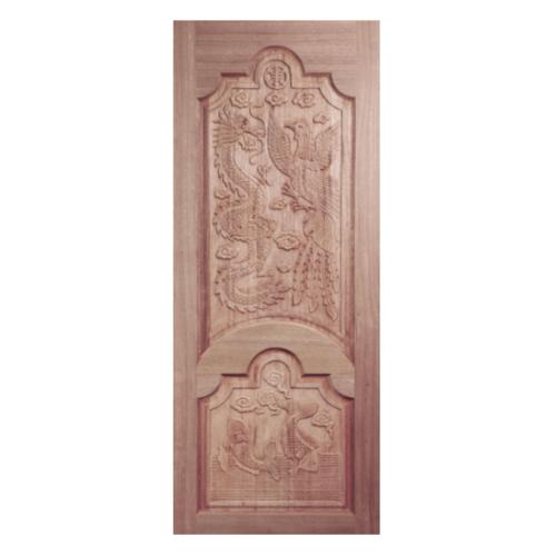 BEST   ประตูไม้สยาแดง ขนาด 90x200 cm. GC-91
