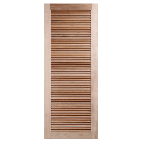 BEST ประตูไม้สยาแดง ขนาด 100x200 cm. GS-23