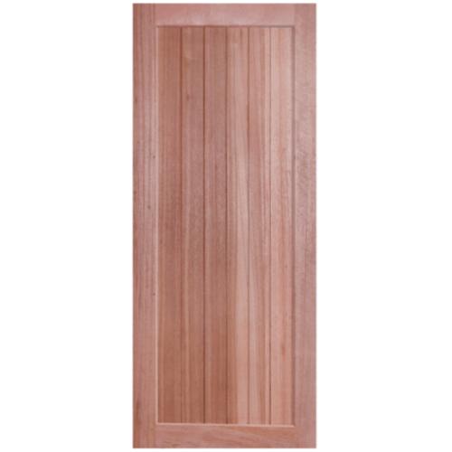 BEST ประตูไม้สยาแดง  ขนาด70x200 cm. GS-56