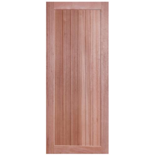 BEST ประตูไม้สยาแดง 90x200 cm.  GS-56