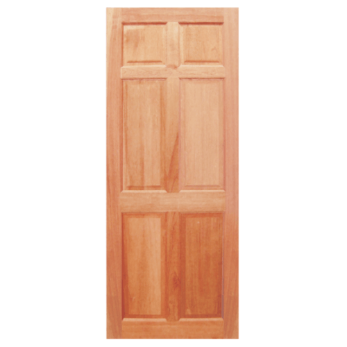 BEST ประตูไม้สน ขนาด 90x200 cm. GS-44