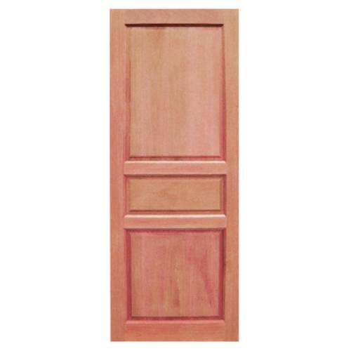 BEST ประตูไม้สยาแดง ขนาด  80x168 cm. GS-40