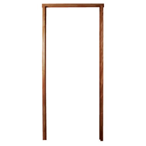 BEST วงกบประตูไม้เนื้อแข็งพร้อมซับ ขนาด200x240 cm.