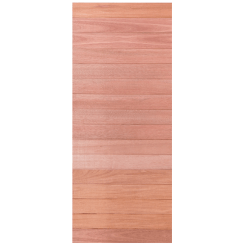 BEST ประตูไม้สยาแดง 80x200 cm. Trend-01
