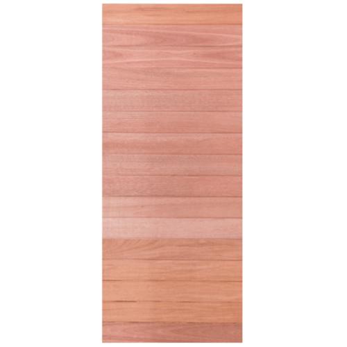 BEST ประตูไม้สยาแดง 100x240 cm.  Trend-01