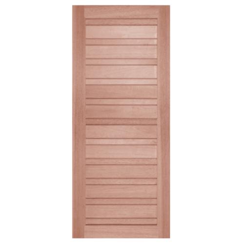 BEST ประตูไม้สยาแดง ขนาด 90x235 cm. GS-53