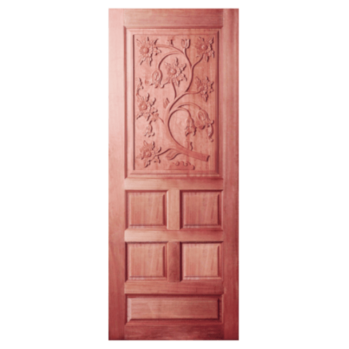 BEST ประตูไม้สยาแดง  90x200 cm.  GC-34