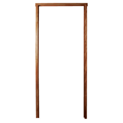 BEST วงกบประตูไม้เนื้อแข็ง ขนาด 120x220cm. -