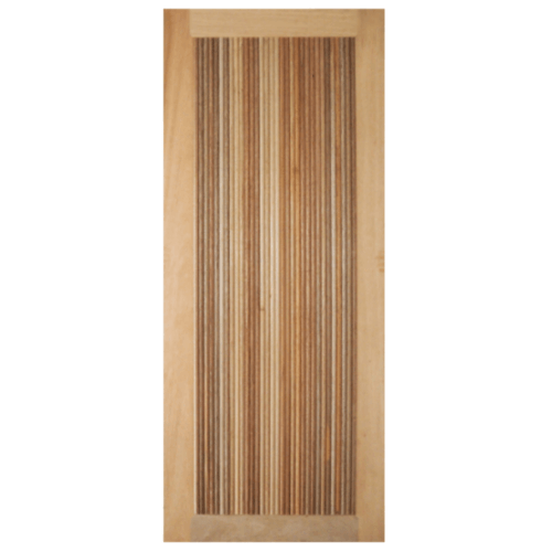 BEST ประตูไม้สยาแดง  80x220cm.  GS-71