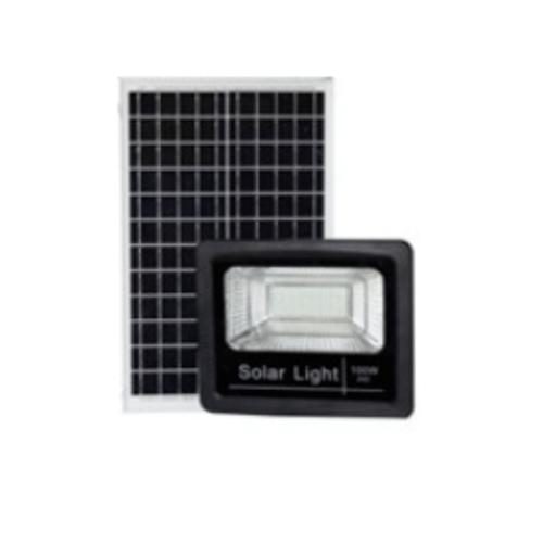GATA โคมฟลัดไลท์ LED Solar 30W Day - สีดำ