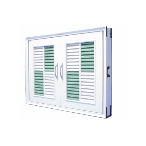 WT บานซิงค์คู่ สีขาว-เขียว WT-555