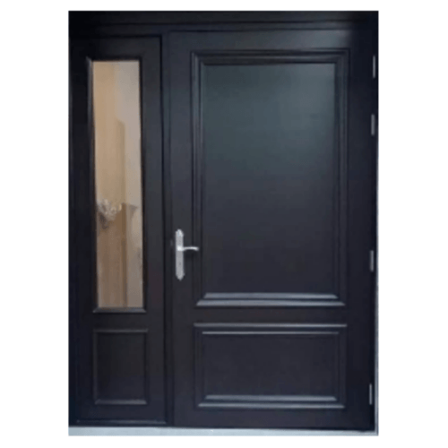 MAZTERDOOR ประตูไม้สยาแดง ลูกฟัก SET-1  ขนาด 145x200ซม.