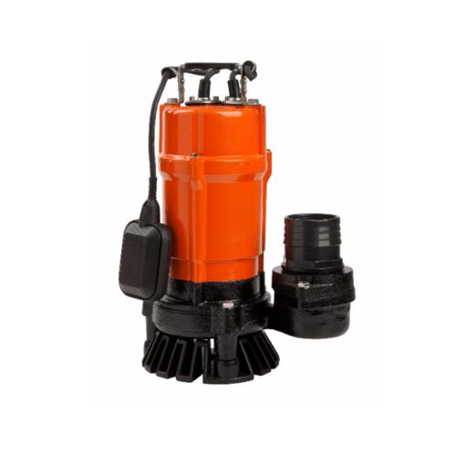 SUMOTO POMPA ปั๊มจุ่มน้ำเสีย 500W.พร้อมลูกลอย  DIRT500F สีส้ม
