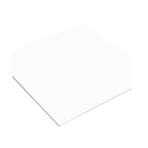 DURA แผ่นยิปซัมดูร่าขอบเรียบ  60x60x0.8  สีขาว