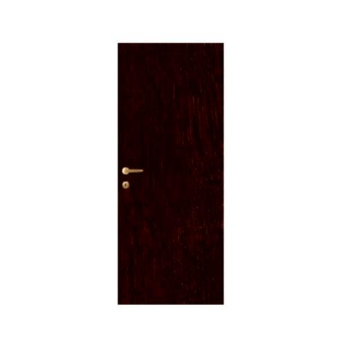 LEOWOOD ประตู iDoor S5  ขนาด 35x800x2000 มม.  Ebony Oak สีดำ