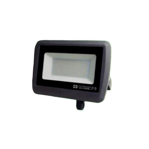 HI-TEK ฟลัดไลท์ LED มิลาน IP65 50W 220V DARK GREY (WW)  HFOLFE50WG