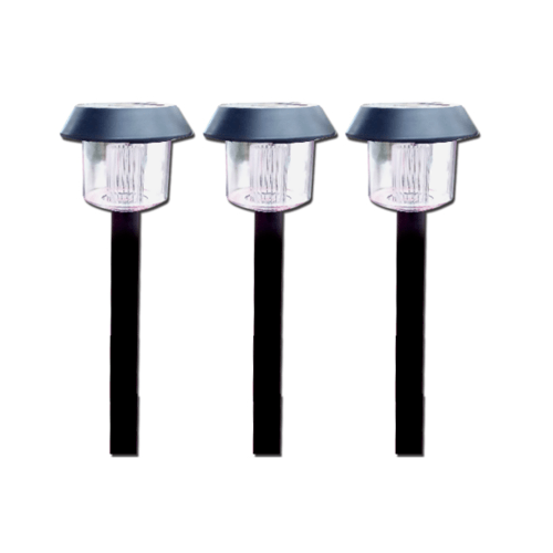ELON โคมไฟสวนพลังงานแสงอาทิตย์ปักดิน  XLTD-300 สีดำ