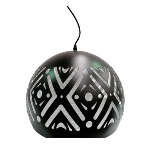 ELON โคมไฟแขวนLoft 58125-1 สีดำ