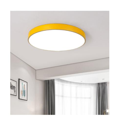EILON โคมไฟเพดานแอลอีดี 24W KDX0001 สีเหลือง