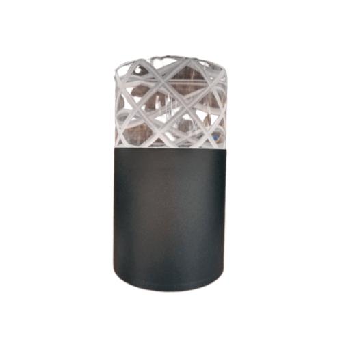EILON โคมไฟพนังโมเดิร์น กันน้ำ IP76 7W SZ-2915 สีดำ