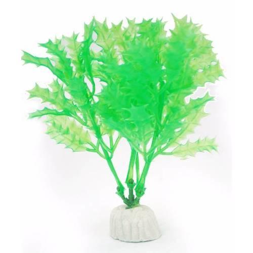 BOYU ต้นไม้เทียมประดับตู้ปลา  สูงขนาด 4นิ้ว AP-047 เขียว
