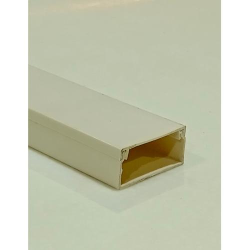V.E.G. รางทรังกิ้ง  25*12มม.สีขาวยาว 1เมตร สีขาว