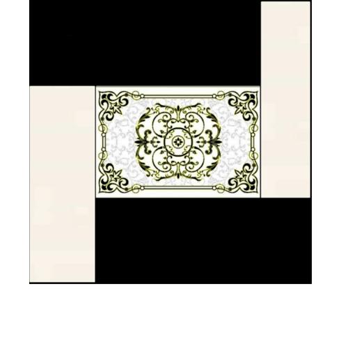 Marbella กระเบื้องปูพื้นไอยรา ขนาด 120x180 cm. GJ60313 (6P/Set)A สีครีม