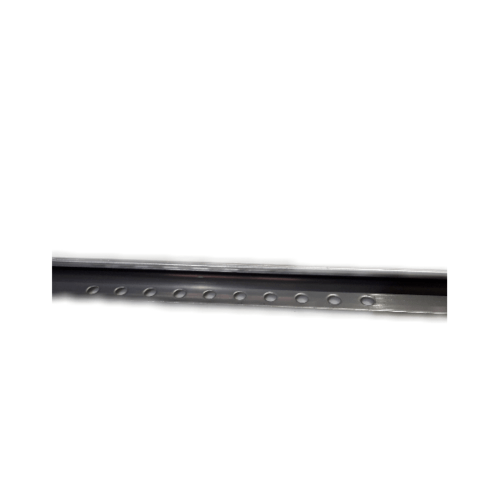 Wellingtan คิ้วโค้งสเตนเลสสตีล 304 สูง 12 มม หนา 0.6มม SR003-12 สีโครเมี่ยม