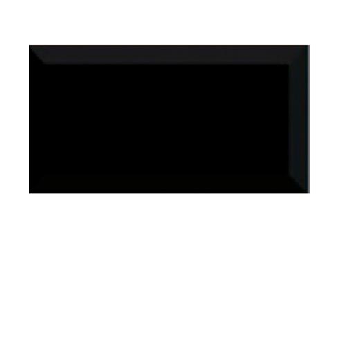 Marbella กระเบื้องบุผนัง ขนาด 7.5x15 cm. Subway Black Matt