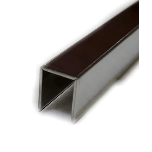 Wellingtan เส้นแบ่งแนวสเตนเลสสตีล 304 หนา 0.6 มม.  SUP081 สีโครเมี่ยม