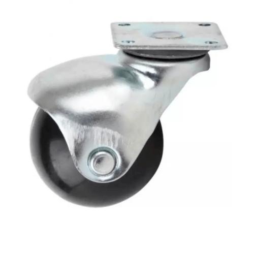 KAMPER ล้อบอลยางแป้น  2109-40 สีดำ